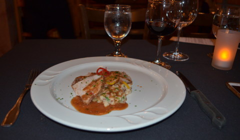 Wine dinner at Marcello's in Sunriver, OR